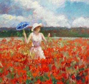 Monet's Poppies - Board Only