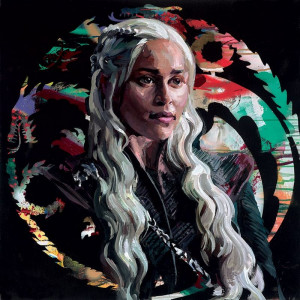 mother of dragons - board only