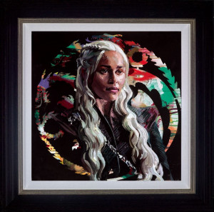 Mother Of Dragons  - Framed