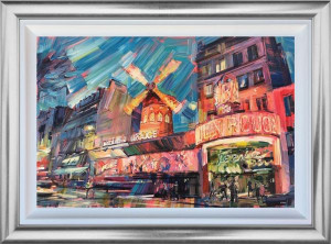 Moulin Rouge - Original - Framed