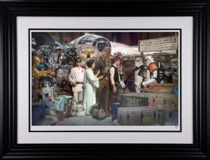 Move Along - Star Wars  - Framed