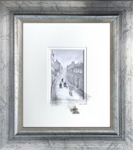 Move It Or Loose It Mr! - Silver Frame - Framed