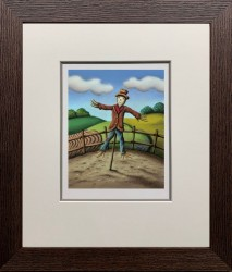 Mr. Scarecrow - Framed