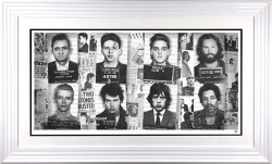 Music's Most Wanted - Artist Proof - White Framed
