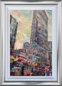 New York City Beat - Original - Framed