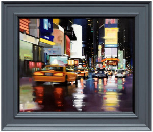 New York City Motion - Canvas  - Framed