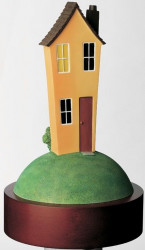 No Place Like Home - Resin Sculpture