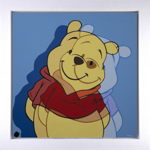 Oh Bother - Original - White - Framed