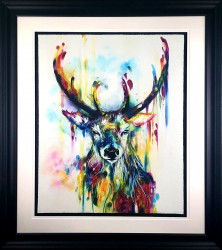 Optic I (Stag) - Framed