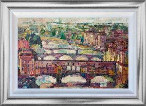 Our Bridges - Original - Framed