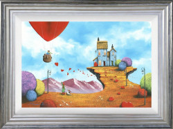 Our Cliff Top House - Silver Framed