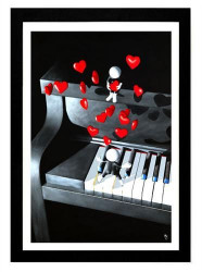 Our Love Song - 3D High Gloss - Framed
