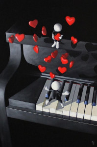 Our Love Song - 3D High Gloss Resin - Board Only