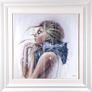 Outskirts Of Reality - Artist Proof - White - Framed