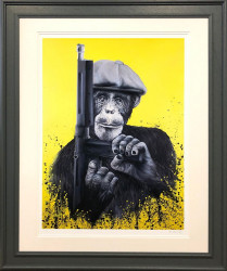Peaky Primate - Artist Proof Framed