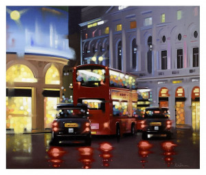 Piccadilly Night Adventure - Canvas - Board Only
