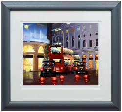 Piccadilly Night Adventure - Framed