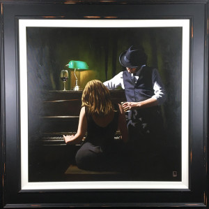 play it again - canvas  - framed