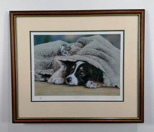 Play Mates - Brown - Framed
