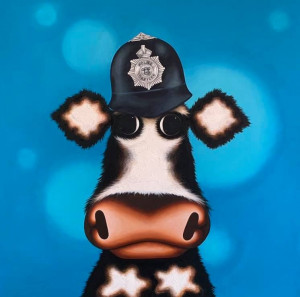 Policemoo - Original - Box Canvas