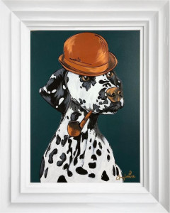 Pongo - Original - White - Framed