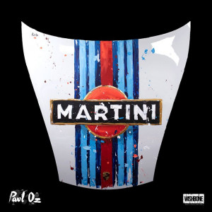 Porsche 911 Racing Martini - Front Hood - Bonnet - With Wall Fittings