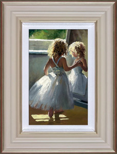 Pretty As A Picture - Cream - Framed
