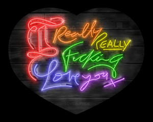 Really Really - Rainbow Version - Artist Proof - Mounted