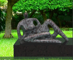 Reclining Nude - Monumental Edition  - Bronze