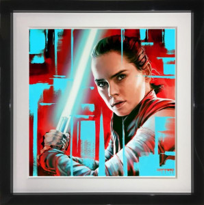 Rey - Original  - Framed