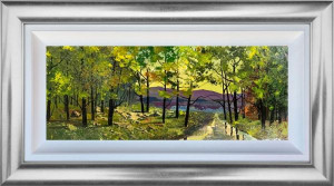 Road To The Lake - Original - Framed