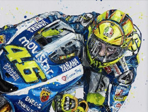 rossi - mounted