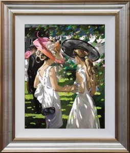 Royal Ascot Ladies Day I  - Framed