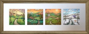 Secrets Of The Seasons - Landscape Presentation  - Framed