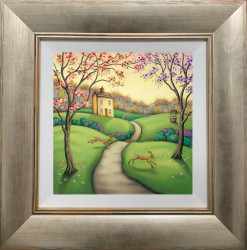 Secrets Of The Seasons - Spring - Framed