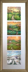Secrets of the Seasons - Upright Presentation - Framed