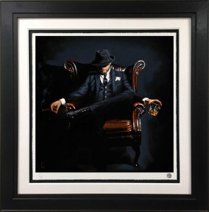Self Made Man - Black - Framed