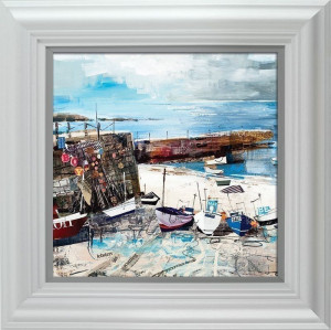 Sennen Cove Boats  - Framed