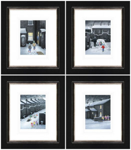 Set Of Four Winter Releases 2019  - Framed