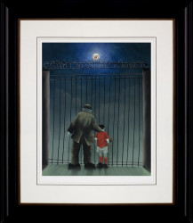Shankly Gates - Framed