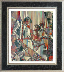 Silent Note (Small) - Framed