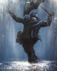 Singin' In The Rain (with Jeff Rowland) - Canvas