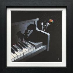 Singing In The Rain - Canvas Framed