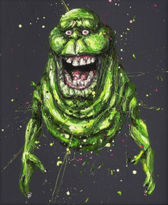 slimer - mounted