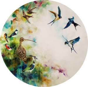 solstice - swifts - (large)  - mounted