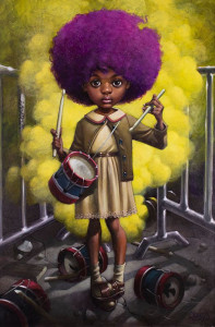 Sound Of the Funky Drummer - Artist Proof - Mounted