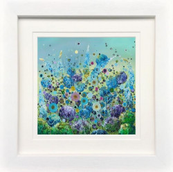 Sparkle In The Breeze - White Framed