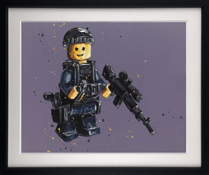 Stand By (Lego)  - Framed