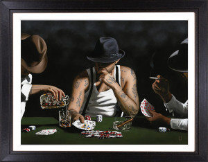 Stay Lucky - Artist Proof - Canvas - Black Framed