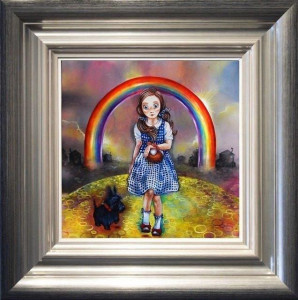 Study Of Dorothy For The Wizard Of Oz - Framed